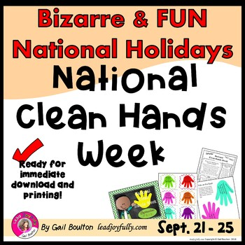 National Clean Hands Week (3rd Full Week of September)