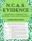 National Core Art Standards - Evidence - TAB Classroom