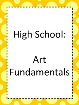National Core Art Standards for High School Proficient