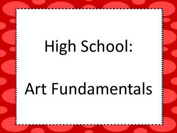 National Core Art Standards for High School Proficient in Landscape
