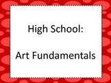 National Core Art Standards for High School Proficient in