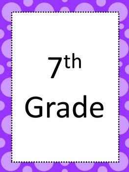 National Core Art Standards for Seventh (7th) Grade Visual Arts