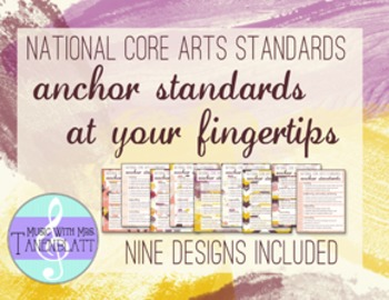 National Core Arts Standards - Anchor Standards at your Fi