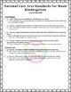 National Core Arts Standards - Music Standards - Checklist for Lesson Plans K-8