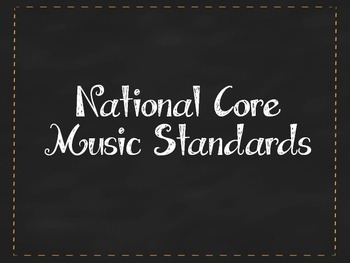 National Core Music Standards