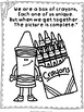 National Crayon Day Bulletin Board & Coloring Pages