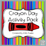 National Crayon Day Activity Pack