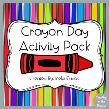 National Crayon Day Hats