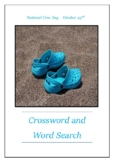 National Croc Day - October 23rd Crossword Puzzle Word Search Bell Ringer