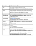 National/Cultural Identity French Lesson Plan