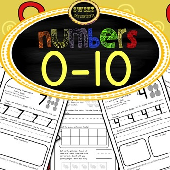 Foundation Stage Maths - Number 0-10