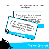 National Curriculum Objectives - Year 1 Maths