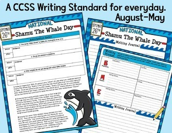 300 Reading Comprehension Passages & Writing Prompts Bundle / Google Classroom