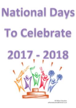 National Days Of Celelbration 2017 - 2018