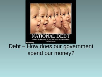 National Debt, taxes, and budgets