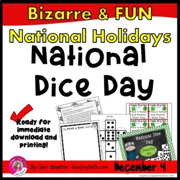 National Dice Day (December 4th)