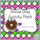 National Donut Day Hat Activity Pack