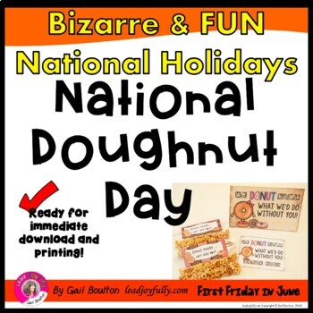National Doughnut Day (June 2nd)