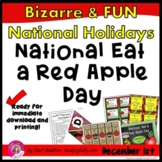 National Eat a Red Apple Day (December 1st)