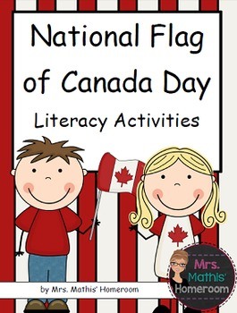 National Flag of Canada Day Literacy Activities