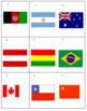 National Flags Tic Tac Know