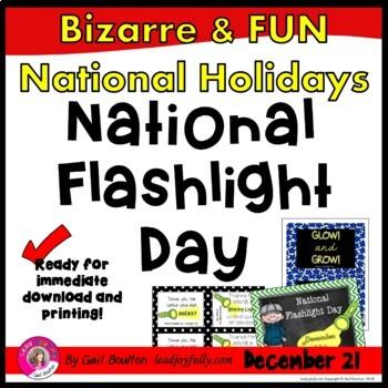 National Flashlight Day (December 21st)
