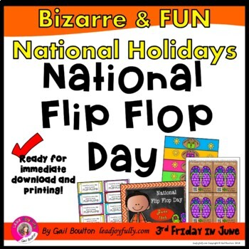 National Flip Flop Day (June 16th)