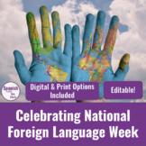 National Foreign Language Week Celebration: Activities & E