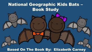 Bats National Geographic Kids Worksheets & Teaching