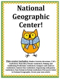 National Geographic Center Packet! Grades 3,4,5 GATE grades 2,3,4 ALSO
