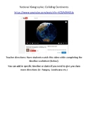 National Geographic Colliding Continents Video Worksheet