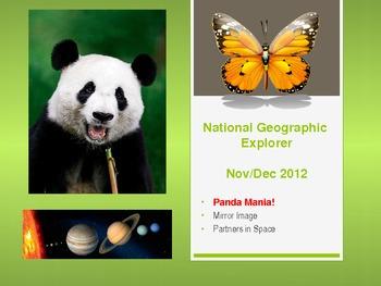 National Geographic Explorer PPT for Nov/Dec 2012 issue