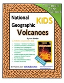 National Geographic Kids Volcanoes {Nonfiction Comprehension Guide}