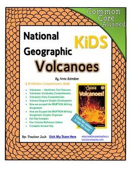 National Geographic Kids Volcanoes {Nonfiction Comprehensi