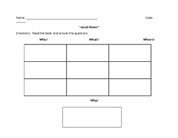 Theme Book Questions/Graphic Organizer