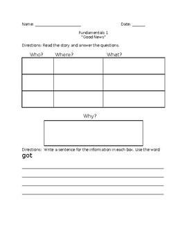 Theme Book Questions/Graphic Organizer