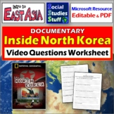 Inside North Korea - National Geographic  ~ Video Questions Worksheet ~