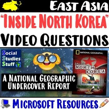 Inside North Korea Video Questions Worksheet - Nat Geo Documentary
