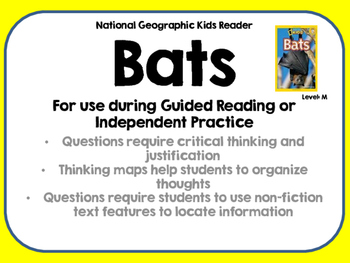 National Geographic Kids Bats Reader GRL M