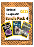 National Geographic Kids Bundle Pack 4 {Sharks, Weather, Rocks and Minerals}