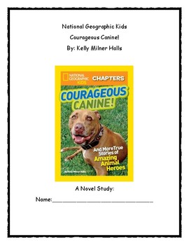 National Geographic Kids Courageous Canine!
