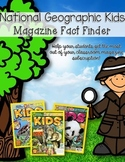 National Geographic Kids Fact Finder **FREEBIE**