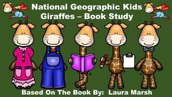 National Geographic Kids Giraffes - Book Study