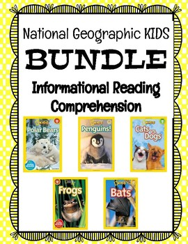 National Geographic Kids - Guided Practice BUNDLE