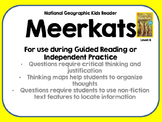 National Geographic Kids Meerkats Reader GRL K