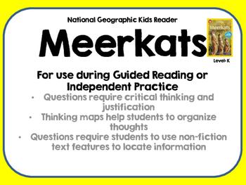National Geographic Kids Meerkats Reader GRL K
