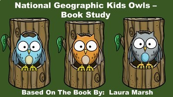 National Geographic Kids Owls - Book Study