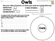 National Geographic Kids Owls Reader GRL J