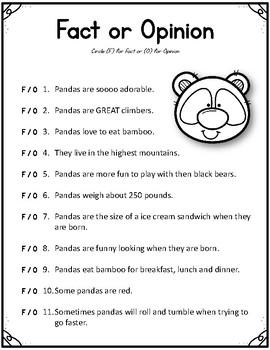 National Geographic Kids- Pandas.  9 Worksheets! Scholastic.