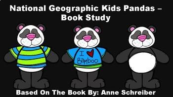 National Geographic Kids Pandas - Book Study